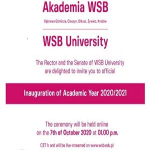 دعوة إلى الافتتاح الافتراضي للسنة الأكاديمية 2020/2021